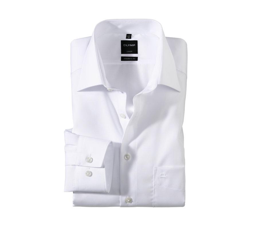 Overhemd Luxor Mouwlengte 7 Modern Fit Wit (0300 69 00N)
