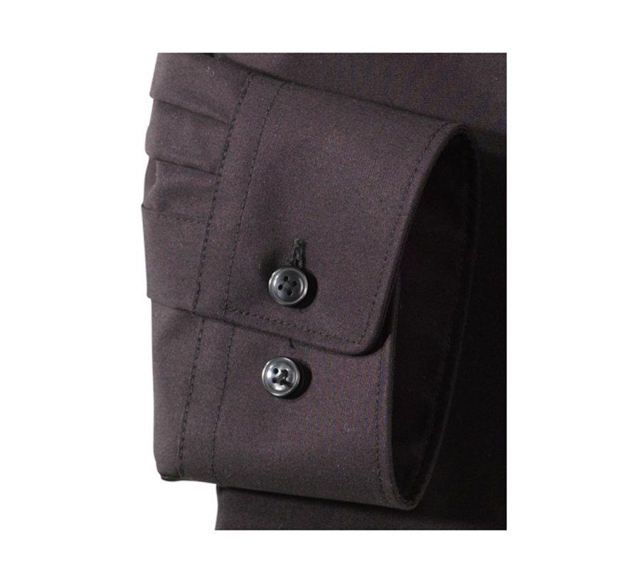 Overhemd Luxor Mouwlengte 7 Modern Fit Zwart (0300 69 68N)