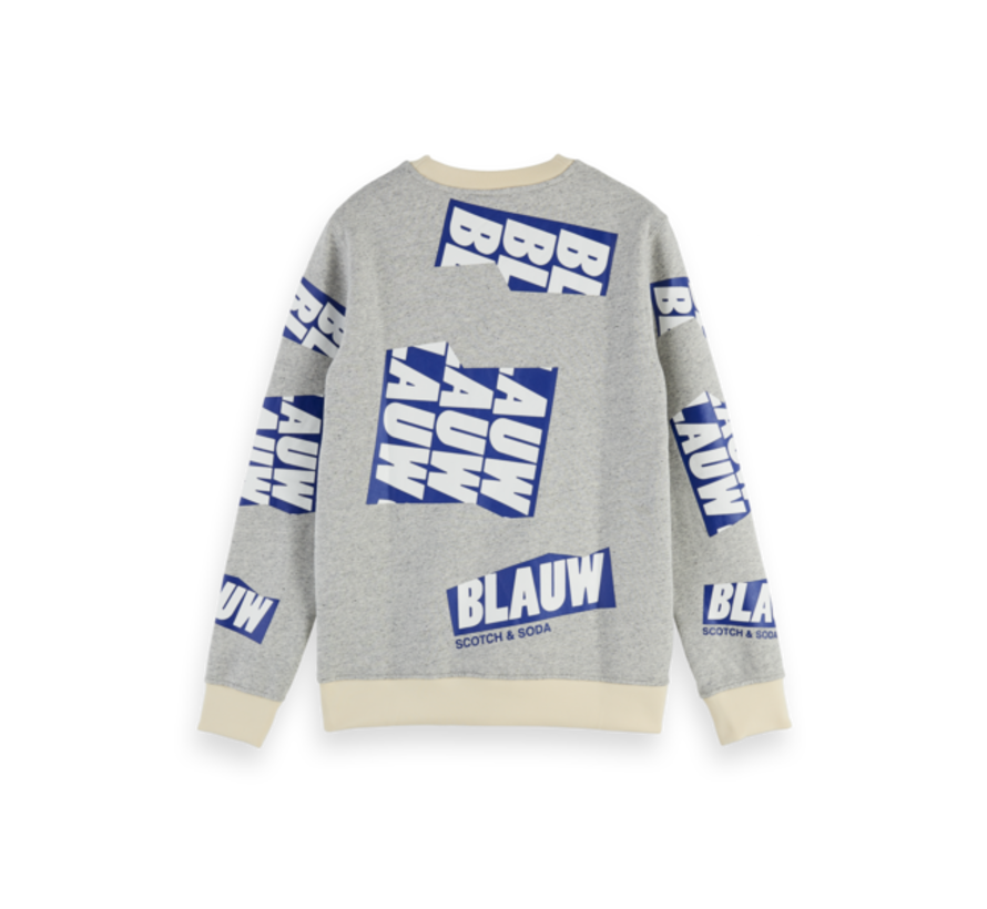 Crewneck Sweater Blauw (153585 - 0606)