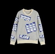 Scotch & Soda Crewneck Sweater Blauw (153585 - 0606)