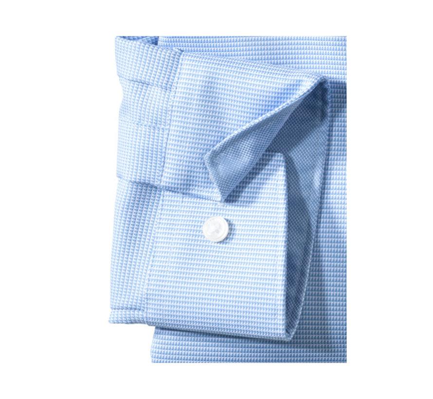 Overhemd Luxor Mouwlengte 7 Modern Fit Blauw (0424 69 11N)