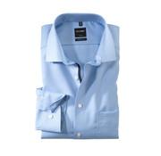Olymp Overhemd Luxor Mouwlengte 7 Modern Fit Blauw (0424 69 11N)