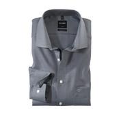 Olymp Overhemd Luxor Mouwlengte 7 Modern Fit Zwart (0424 69 68N)