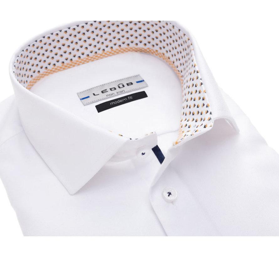 overhemd modern fit wit (0137134-910-390-380)