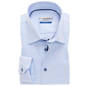 Ledub overhemd tailored fit print (0137119-120-119-000)