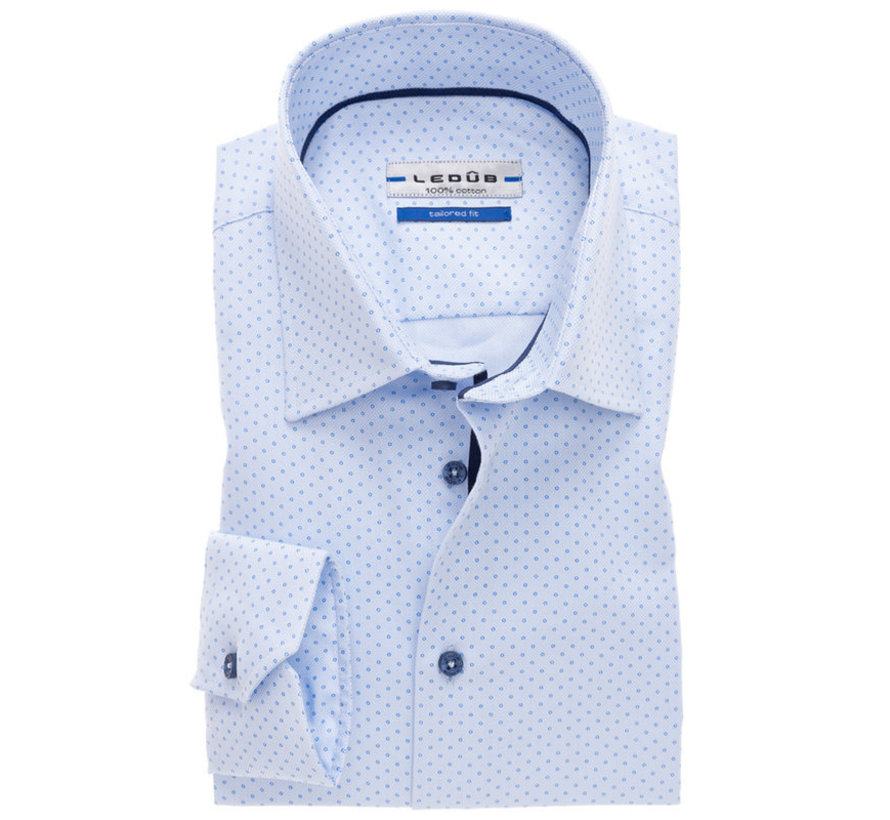 overhemd tailored fit print (0137119-120-119-000)