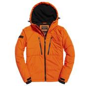 Superdry Tussenjas met Capuchon Oranje (M5000099A - OMG)