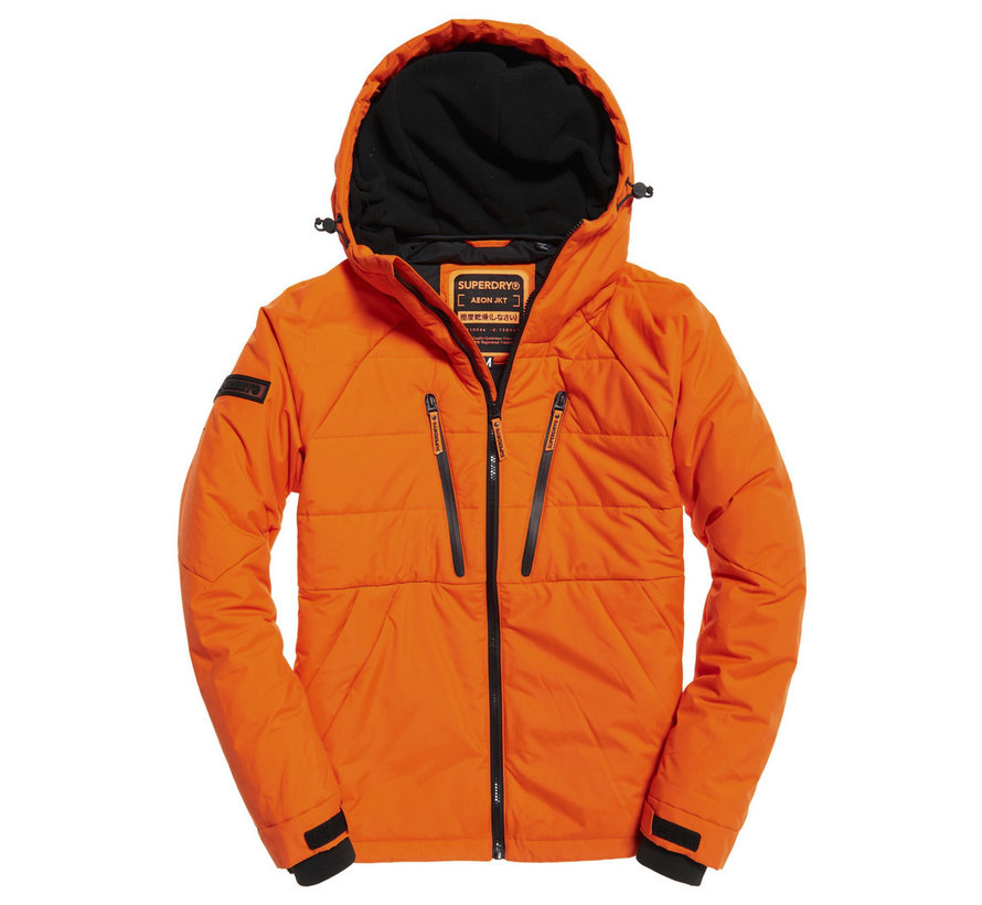 Tussenjas met Capuchon Oranje (M5000099A - OMG)