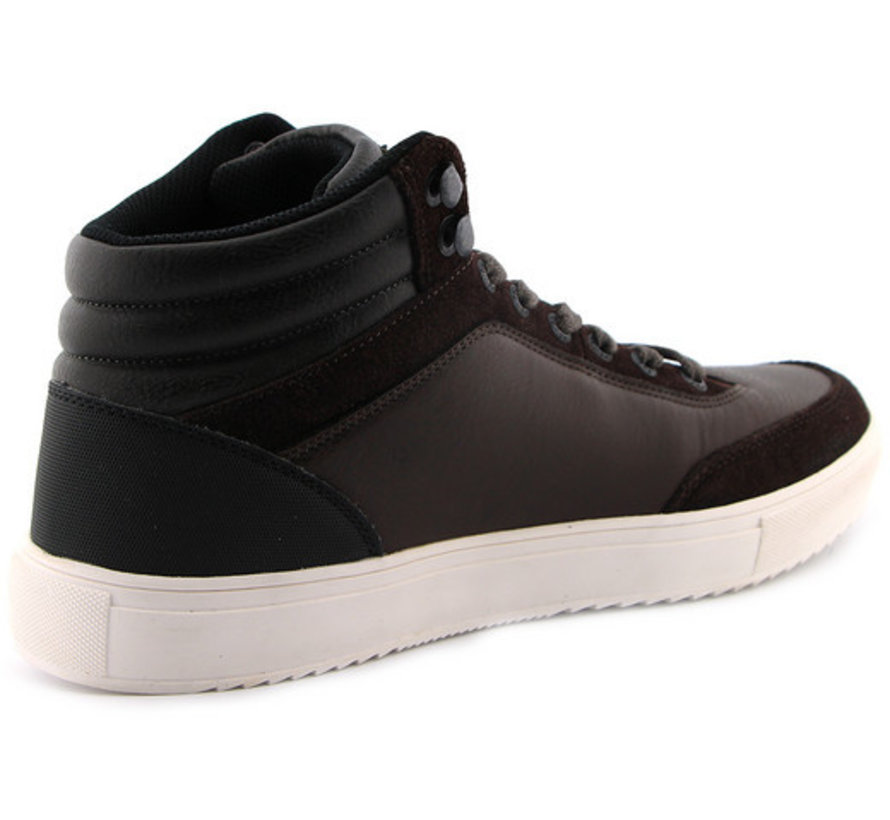 Sneakers Mid Sneaker AI Donker Bruin (PBO196010 - 771)