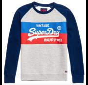 Superdry Sweater Grey Marl Logo (M2000135B - 07Q)