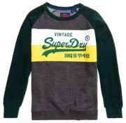 Superdry Sweater Graphite Dark Marl (M2000135B - 5SZ)