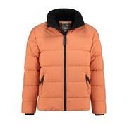 Dstrezzed Winterjas Puffer Jacket Micro Oranje (101240 - 439)