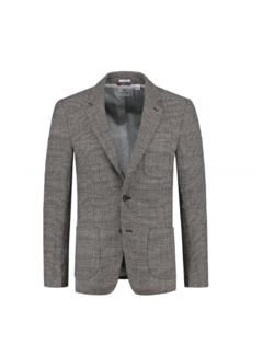Dstrezzed Colbert Slim Fit Tonel Check Wool Sand (111188 - 251)