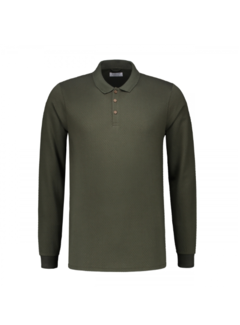 Dstrezzed Polo Bubble Jersey Dark Army (202440 - 524)