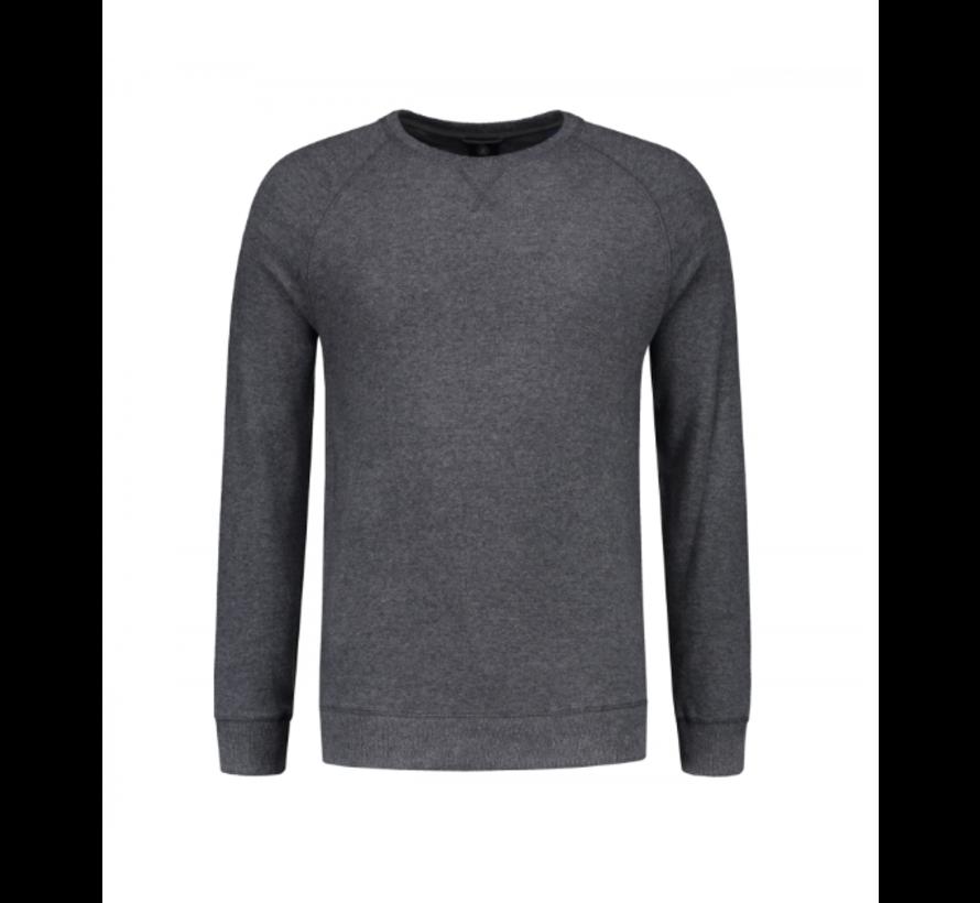 Crewneck Super Soft Sweater Grey Melange (211261 - 830)