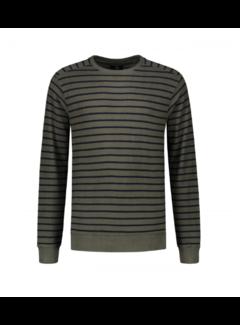 Dstrezzed Crewneck Super Soft Sweater Dark Army (211262 - 524)