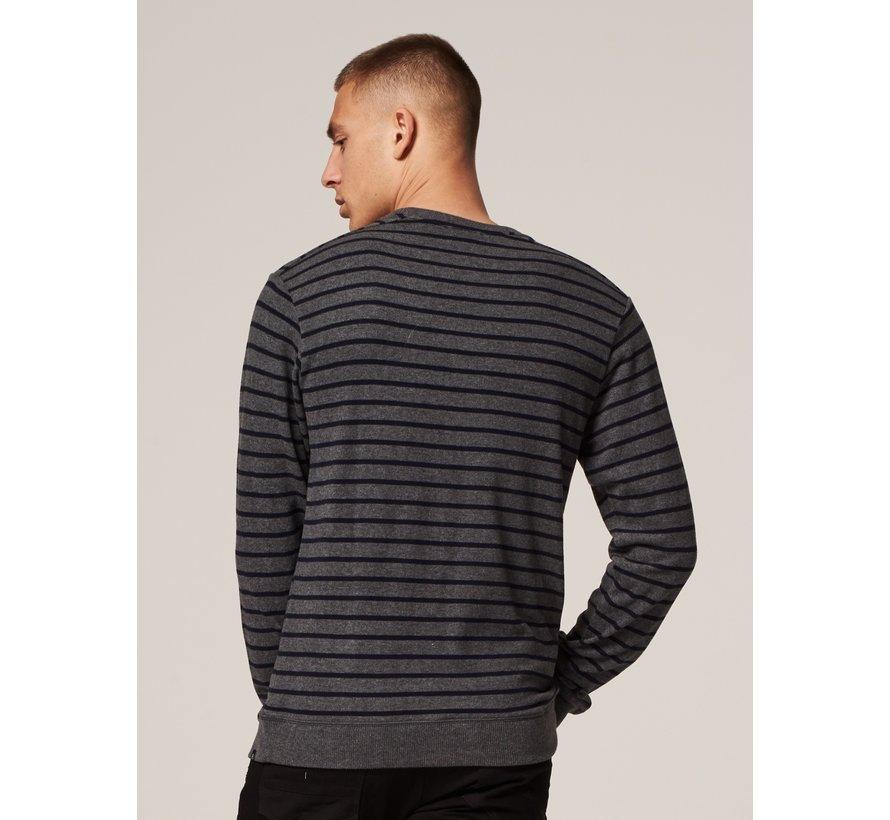 Crewneck Super Soft Sweater Grey Melange (211262 - 830)