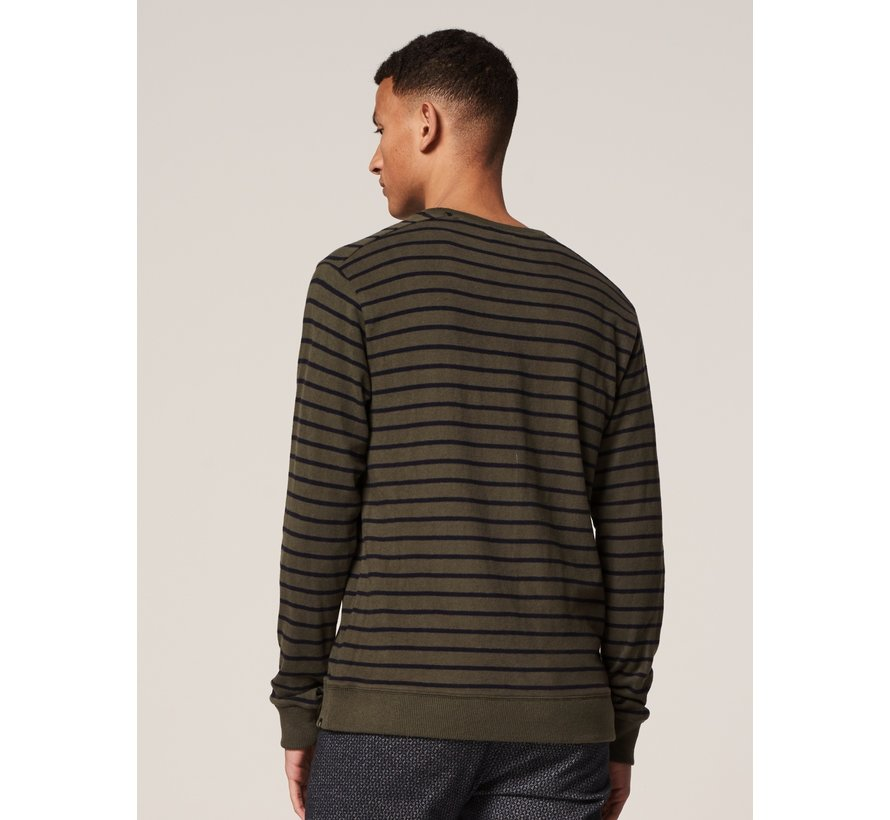 Crewneck Super Soft Sweater Dark Army (211262 - 524)