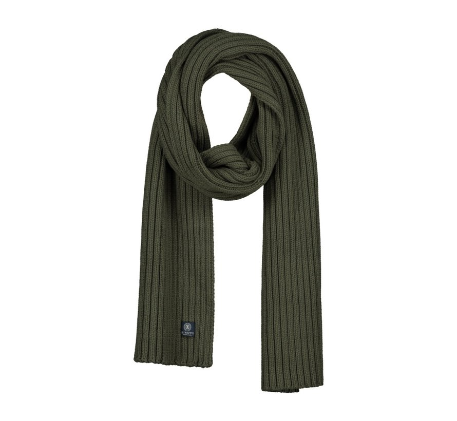 Scarf Cotton / Acrylic Dark Army (651067 - 524)