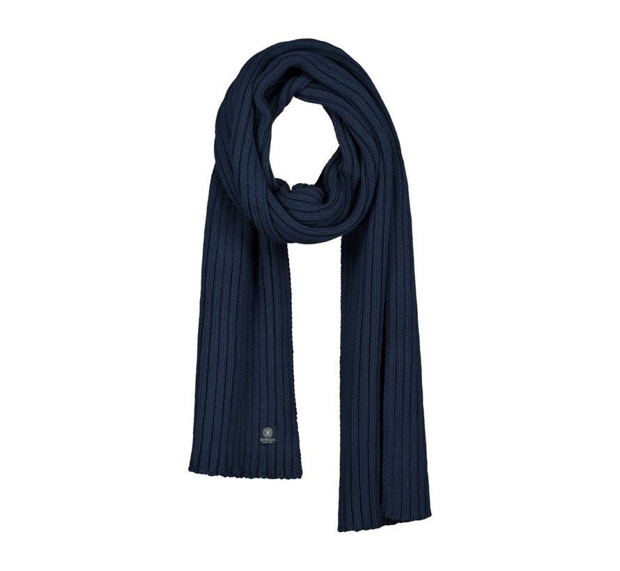 Scarf Cotton / Acrylic Navy (651067 - 669)