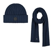 Dstrezzed Scarf & Beanie Gift Pack Cotton / Acrylic Navy (651068 - 669)