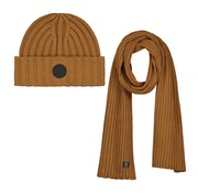 Dstrezzed Scarf & Beanie Gift Pack Cotton / Acrylic Bronze (651068 - 305)