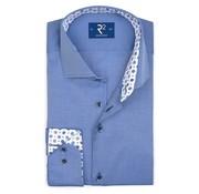 R2 Amsterdam Overhemd Fine Twill Blauw (107.WSP.046 - 014)
