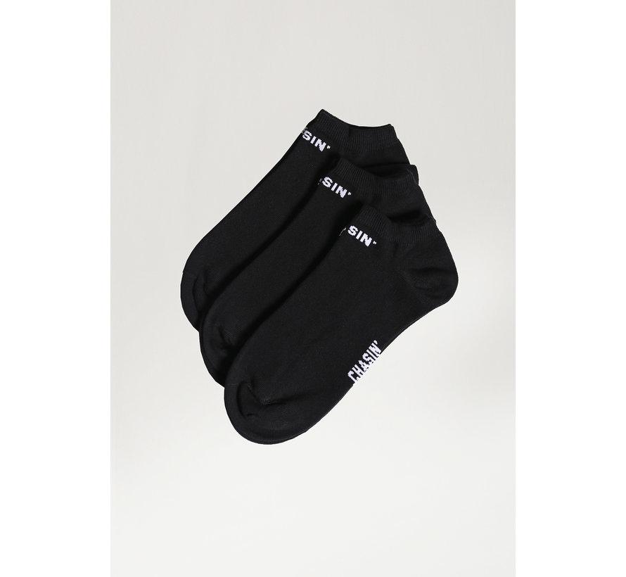 Ankle 3P Socks Black (9S00336011-E90)