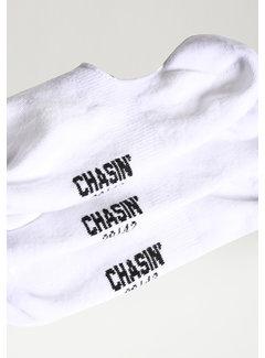 CHASIN' Noshow Socks White (9S00336012-E10)
