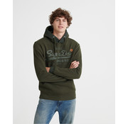 Superdry Vl Tonal Tape Hooded Sweater Olijf Groen (M2000138A - LO3)
