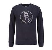 Dstrezzed Sweater Logo Crew Navy (261002D - 649)