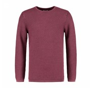 Dstrezzed Pullover Crew Acid Structure Bordeaux Rood (404122 - 423)