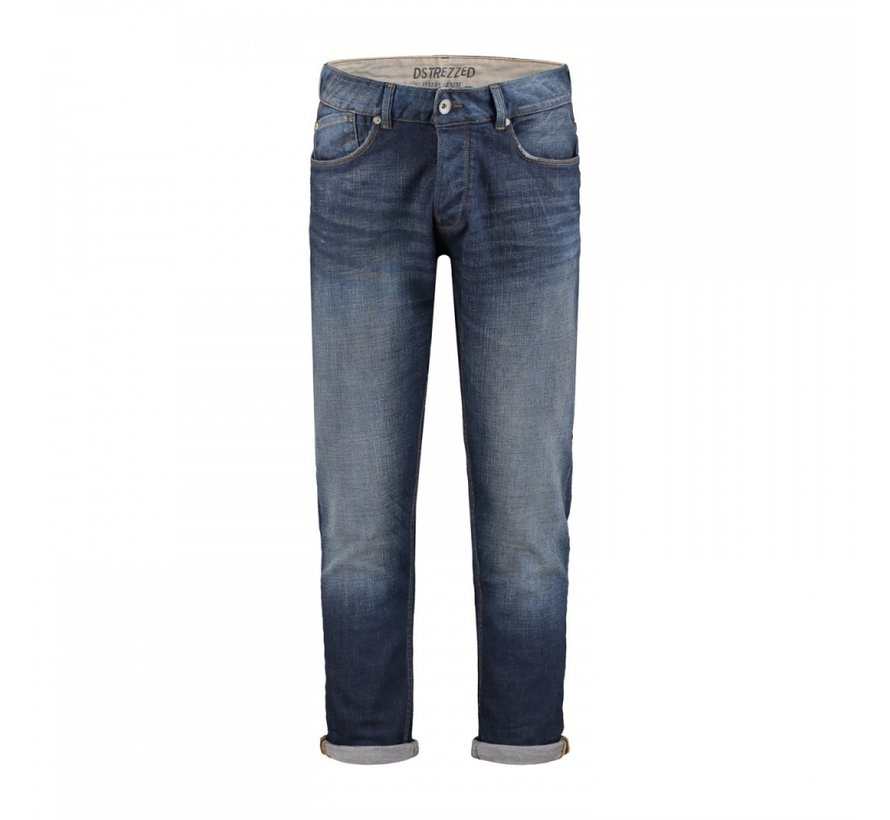 Jeans The James B. Tapered Fit Dark Worn In Blauw (551001D - 901)