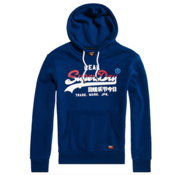 Superdry Hooded Sweater Navy (M2000133A - J6P)
