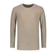 Dstrezzed Sweater Ronde Hals Licht Bruin (404164 - 205)