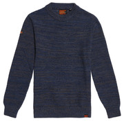 Superdry Keystone Crew Jumper Sweater Navy Blauw (M6100024A - 1SI)