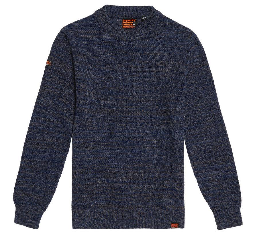 Keystone Crew Jumper Sweater Navy Blauw (M6100024A - 1SI)