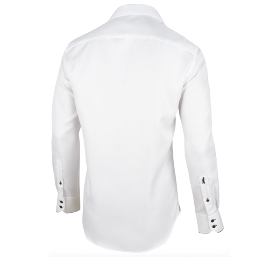 Overhemd Nunzio Wit (1095021 - 10520)