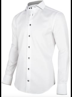 Cavallaro Napoli Overhemd Nunzio Wit (1095021 - 10520)