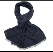 Cavallaro Napoli Sjaal Orlandi Donker Blauw (4795002 - 63003)