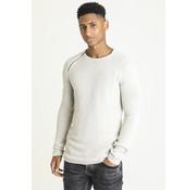CHASIN' Ronde Hals Sweater Mana Off White (3111400009 - E11N)