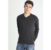 CHASIN' V-Hals Sweater Elias Antraciet (3112400001 - E80N)
