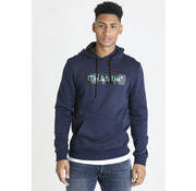 CHASIN' Hooded Sweater Stevens Navy (4113400002 - E60N)