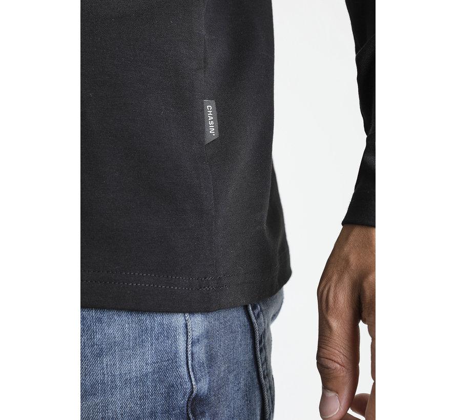 Lange Mouw T-shirt Rida Zwart (5111400004 - E90N)