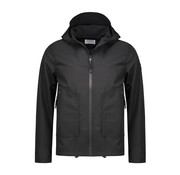 Dstrezzed Jas Hoody Jacket Techshell Zwart (101230 - 999)