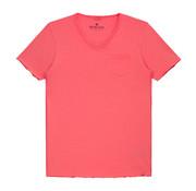 Dstrezzed V-hals T-shirt Coral (202386 - 428)