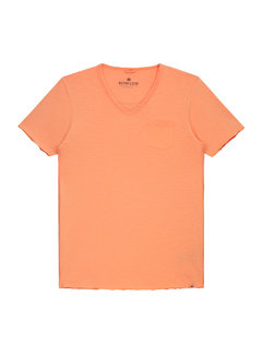 Dstrezzed V-hals T-shirt Oranje (202386 - 439)