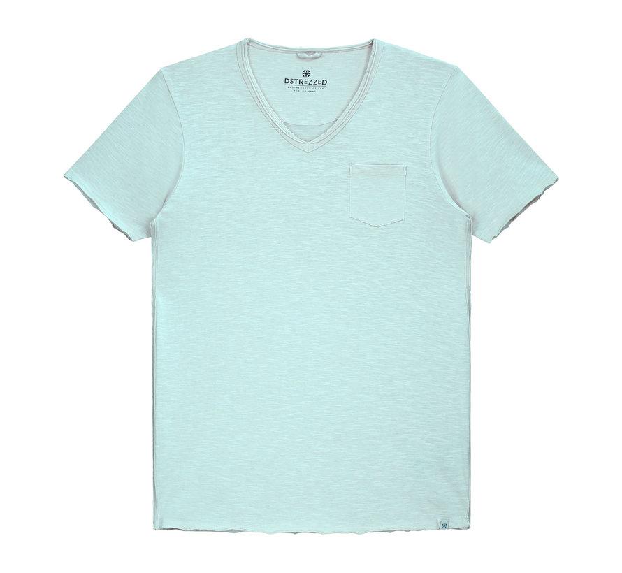 V-hals T-shirt Licht Groen (202386 - 521)