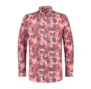 Dstrezzed Overhemd Print Bloemen Coral (303208 - 428)