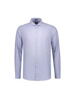 Dstrezzed Overhemd Print Bloemen Licht Blauw (303220 - 625)